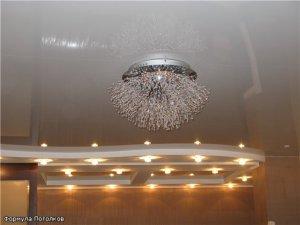 Особенности устройства светодиодной подсветки в натяжных потолках